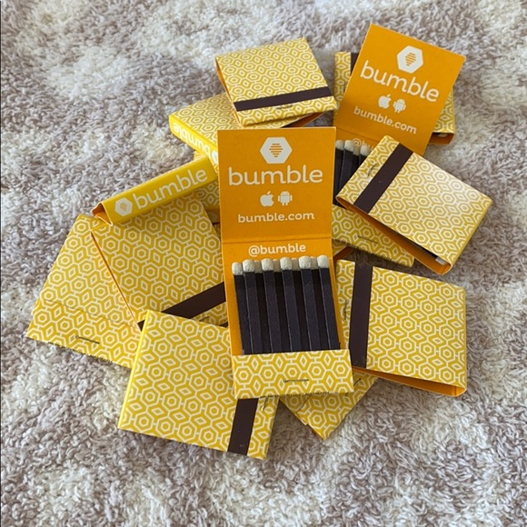 14 Bumble Matchbooks